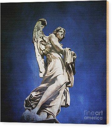 Angelo Wood Print by Bernard Jaubert