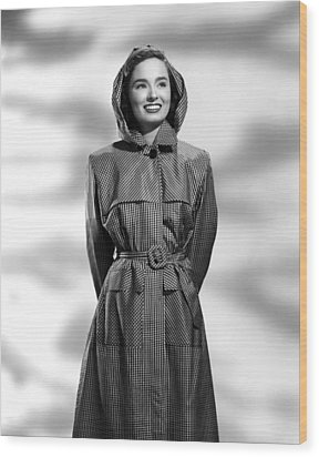 Ann Blyth, 1946 Wood Print by Everett