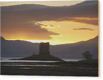 Appin, Argyll & Bute, Scotland Wood Print by Axiom Photographic