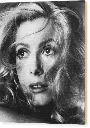 April Fools, Catherine Deneuve, 1969 Wood Print by Everett