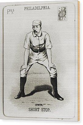 Arthur Irwin (1858-1921) Wood Print by Granger