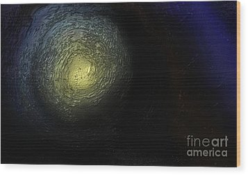 At The End Of The Tunnel Wood Print by Ayasha Loya