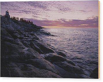 Atlantic Dawn Wood Print
