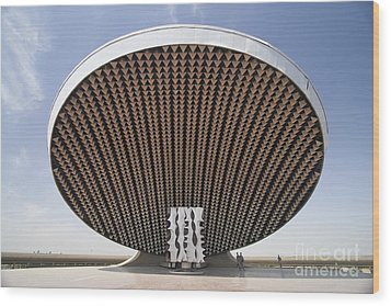 Baghdad, Iraq - A Great Dome Sits At 12 Wood Print by Terry Moore