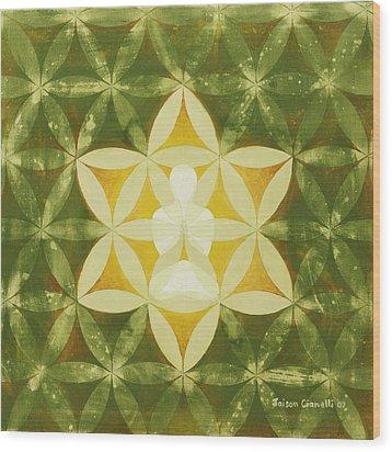 Balance Wood Print by Jaison Cianelli