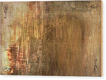 Bamboo Wood Print by Christopher Gaston