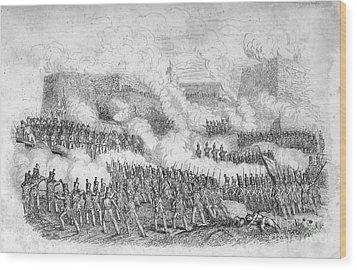 Battle Of Monterrey, 1846 Wood Print by Granger