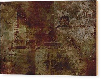 Battlefield Wood Print by Christopher Gaston