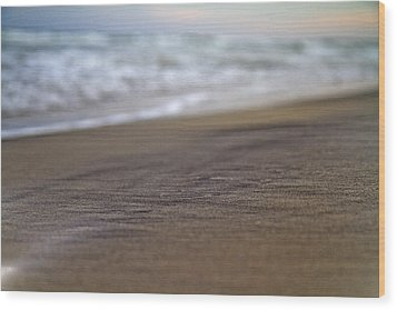 Beach Wood Print by Betsy Knapp