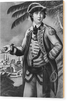 Benedict Arnold 1741-1801, American Wood Print by Everett