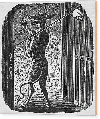 Bewick: Devil Wood Print by Granger
