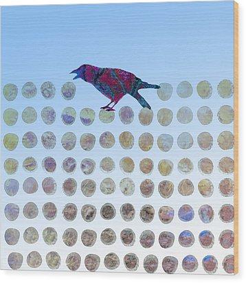 Bird Wood Print by Ann Powell
