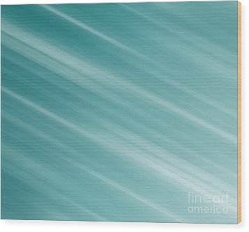 Blue Background Wood Print by Blink Images