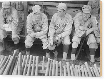 Boston Red Sox, 1916 Wood Print by Granger