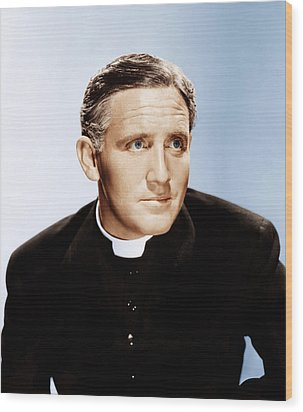 Boys Town, Spencer Tracy, 1938 Wood Print by Everett