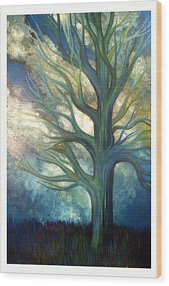 Brisk Wood Print