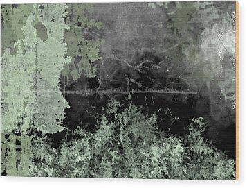 Camo Wood Print by Christopher Gaston