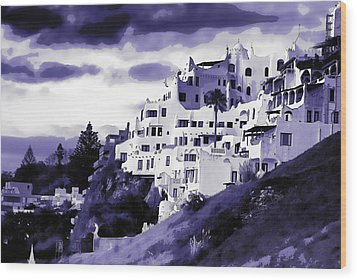 Casa Pueblo Wood Print by David April