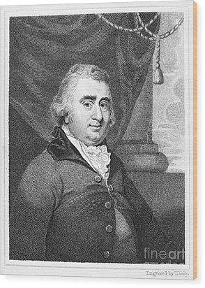 Charles Fox (1749-1806) Wood Print by Granger