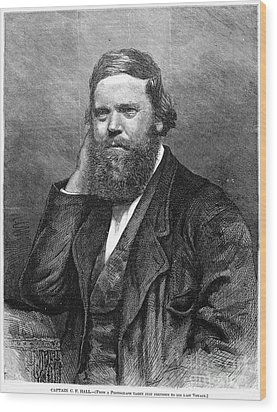 Charles Francis Hall Wood Print by Granger