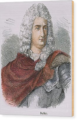Charles-francois Du Fay Wood Print by Granger
