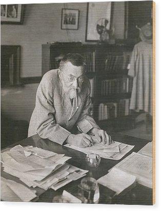 Charles P. Steinmetz 1865-1923 Wood Print by Everett