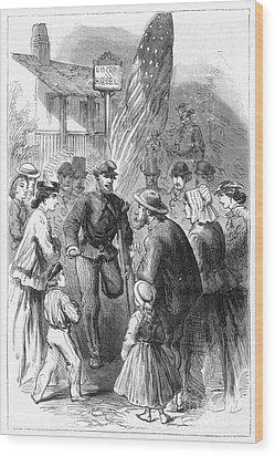 Civil War: Veteran, 1867 Wood Print by Granger