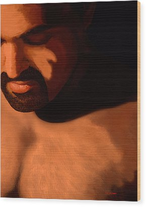 Contemplation Wood Print by Tim Stringer