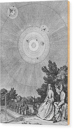 Conversations On The Plurality Wood Print by Science Source