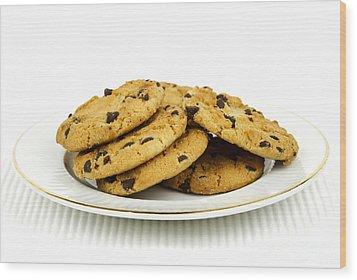 Cookies Wood Print by Blink Images