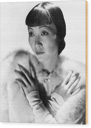 Dangerous To Know, Anna May Wong, 1938 Wood Print by Everett