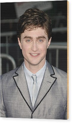 Daniel Radcliffe At Arrivals For Harry Wood Print by Everett