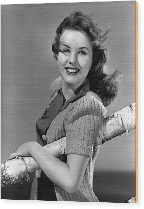 Deanna Durbin, 1941 Wood Print by Everett
