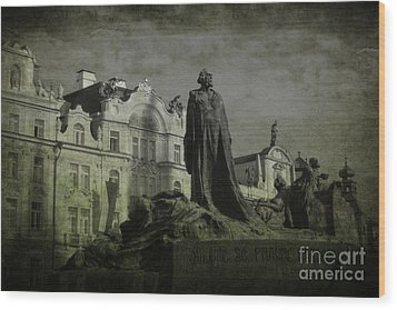 Death In Prague Wood Print by Lee Dos Santos
