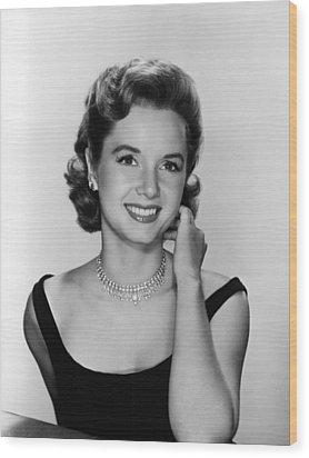 Debbie Reynolds, 1956 Wood Print by Everett