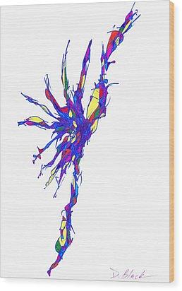 Definism Design 15 Wood Print by Darrell Black