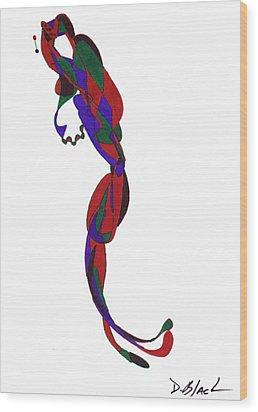 Definism Design 22 Wood Print by Darrell Black
