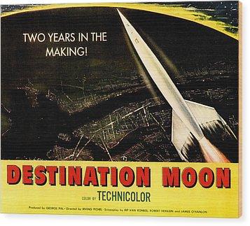 Destination Moon, 1950 Wood Print by Everett