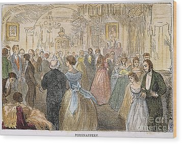 Dickens: Our Mutual Friend Wood Print by Granger
