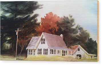 Doc's Place Wood Print by Don F  Bradford