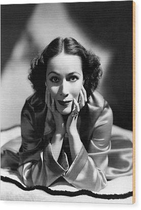 Dolores Del Rio, 1935 Wood Print by Everett