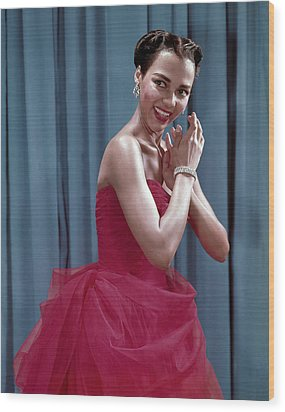 Dorothy Dandridge, 1954 Wood Print by Everett
