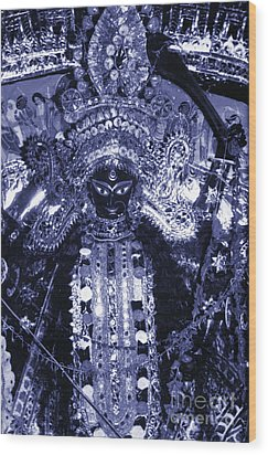 Durga Wood Print by Photo Researchers