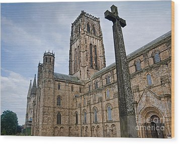 Durham Cathedral Wood Print