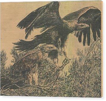 Eagle's Roost Wood Print