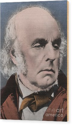 Edward Fitzgerald Wood Print by Science Source