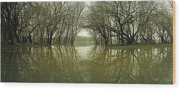 Edwards Ferry Wood Print