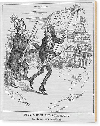 Election Cartoon, 1884 Wood Print by Granger