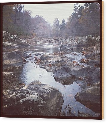 Wood Print featuring the photograph Eno River by Shabnam Nassir