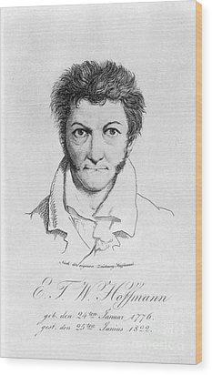 Ernst Hoffmann (1776-1822) Wood Print by Granger